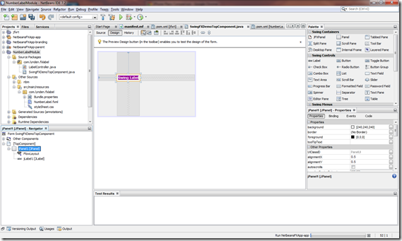 Add a JavaFX Component Built with Scene Builder and FXML to