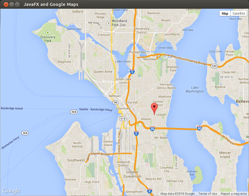 Gmapsfx add google maps to your javafx application robs blog freerunsca Images